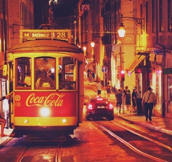 Portugal - Lissabon, sporvogn - rejser