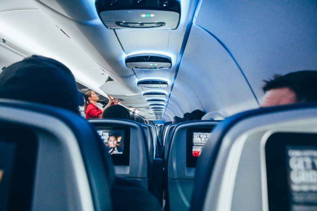 Flysæder - stewardesse
