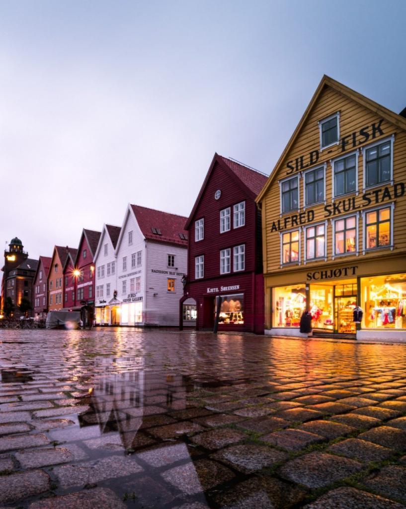 Bryggen-Norge-bygninger